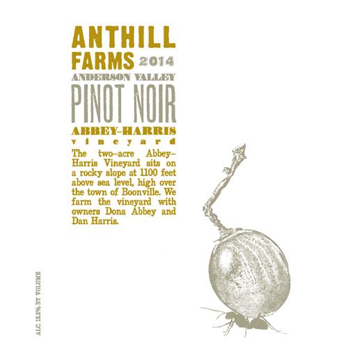 Abbey-Harris Vineyard Pinot Noir