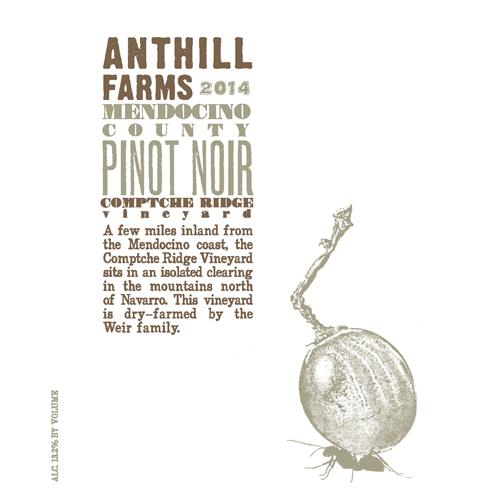 Comptche Ridge Vineyard Pinot Noir