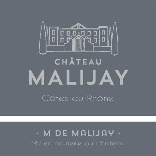 M de Malijay rouge AOC
