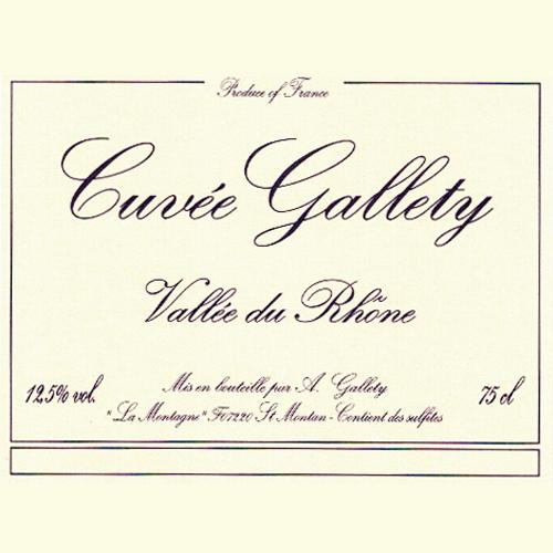 Cuvée Gallety Blanc