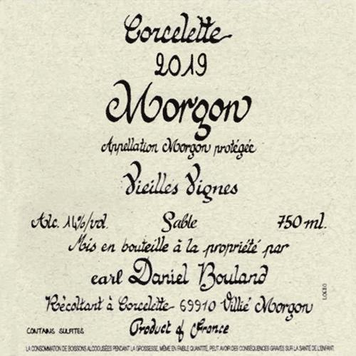 Morgon Corcelette Vieilles Vignes-Sable