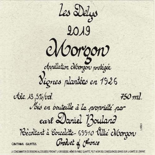 Morgon Delys 1926