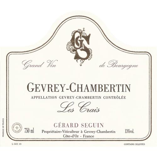Gevrey-Chambertin Les Crais