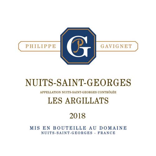 Nuits-Saint-Georges Les Argillats Blanc