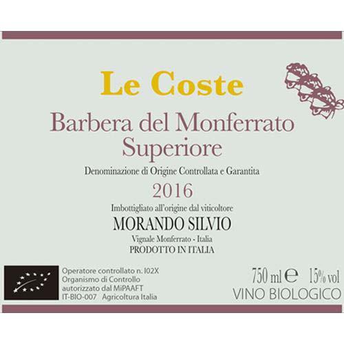 Le Coste Barbera del Monferrato Superiore DOCG